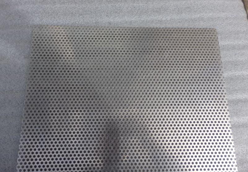 Plain Perf 5m Dia Aluminium Sheet