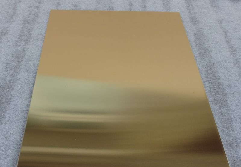 Natural Brass Sheet