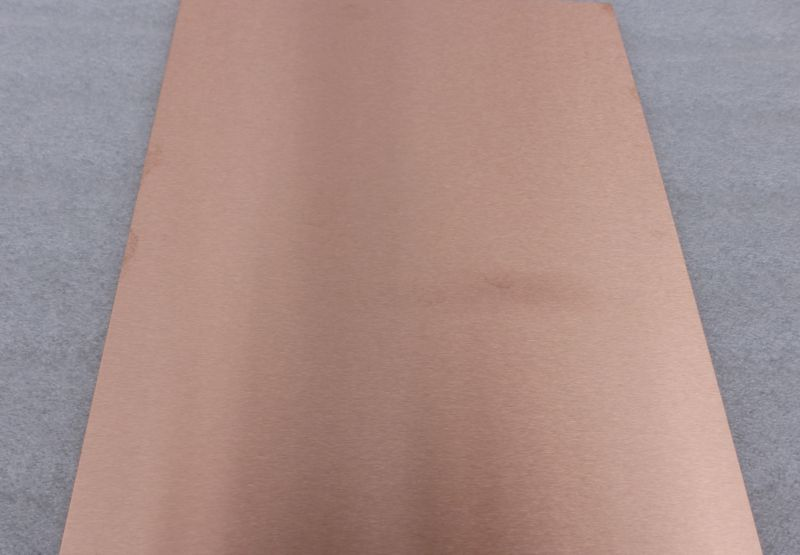 Brushed Copper Sheet