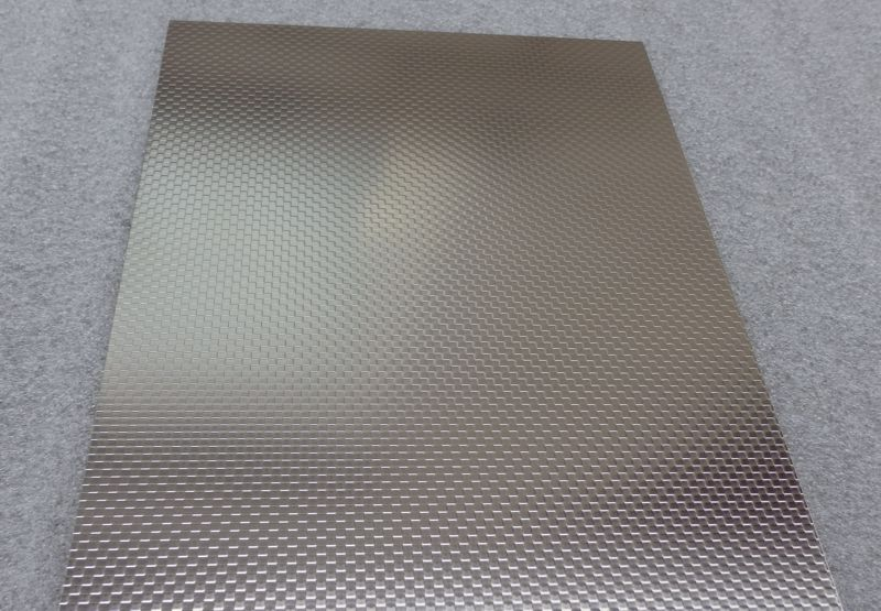 Stainless Steel Sheet Embossed Squares