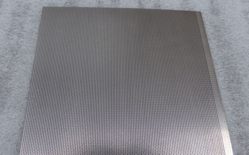 Perforated Stainless Steel Sheet 316 grade 2B finish