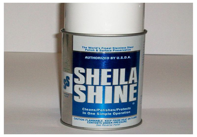 Sheila Shine Metal Polish 10oz Aerosol