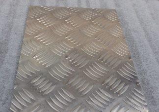 5 Bar Chequer Aluminium Sheet