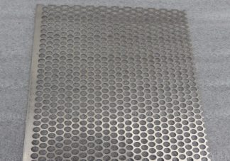Perforated Stainless Steel Sheet 304 grade 2B finish